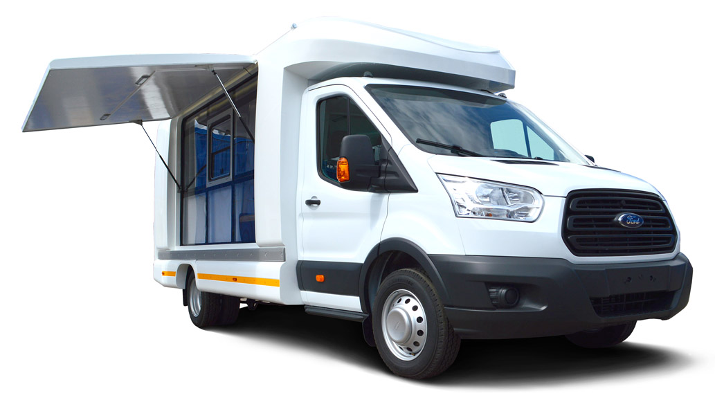 Автокафе «FOODTRUCK» Ford Transit